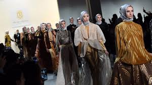 islamic style is showing up on catwalks in mainstream stores and