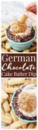 german chocolate cake batter dip recipe cake batter dip