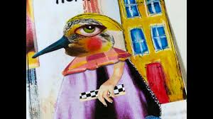 how to collage quirky characters class 3 home sweet home youtube