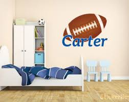 football bedroom decor football room decor etsy