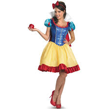 Size Womens Halloween Costumes Cheap Buy Disney Princess Womens Size Deluxe Snow White Fab Costume