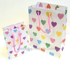 present bags present gift bags pastel heart packaging products online