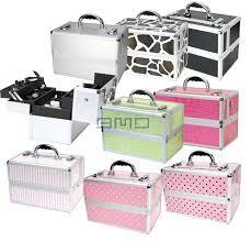 Vanity Makeup Box Wholesale Aluminum Vanity Case Aluminum Cosmetic Organizers