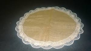 Ivory Burlap Curtains Burlap And Lace Circles Burlapfabric Com Burlap For Wedding And