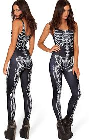 womens skeleton jumpsuit skeleton bone romper jumpsuit skeleton bodysuit fancy dress