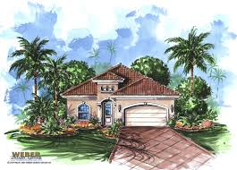 spanish house plans mediterranean style greatroom courtyard small