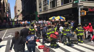 18 square times square crash street closures to know am new york