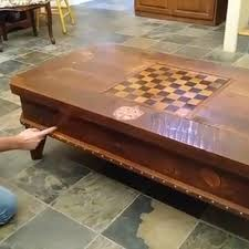 themed coffee table wizard themed mechanical table with compartments and