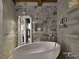 the case for a dream farmhouse bathroom old stone sinks by