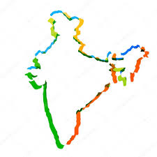 Indian Map Vector Indian Map U2014 Stock Vector Pinnacleanimate 28562385