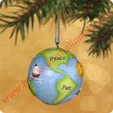 2002 peace on earth harmony bell hallmark ornament