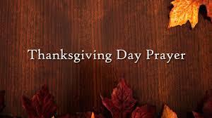 thanksgiving day prayer michigan in touch