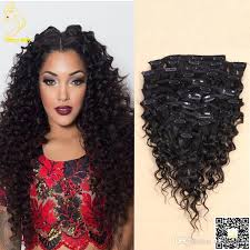 clip ins wave clip in human hair extensions malaysian hair weaves clip