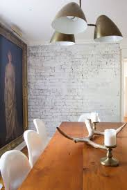 how to paint a brick wall so it still has that antique character