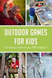 Backyard Activities For Kids Gross Motor Activities For Kids
