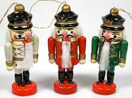 nutcracker ornaments miniature wooden soldier nutcracker ornaments christmas