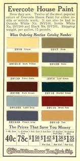 the box house original 1930s paint colors i love this home