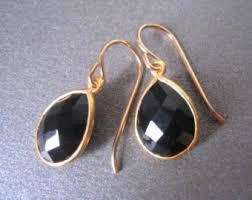 black onyx earrings black onyx earrings etsy