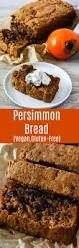 vegan persimmon bread recipe healthier steps