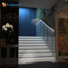 led strip lights for stairs lumiparty motion sensor 1m led strip light battery operated home