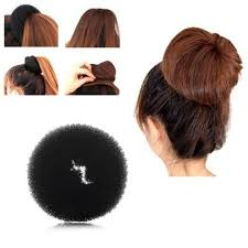 donut hair bun zodaca fashion women donut hair bun up do ring shaper hair ring