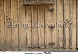 Cedar Barn Door Cedar Grove At Kings Canyon National Park California Usa Stock