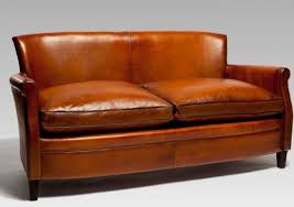 Comfortable Leather Couch Small Leather Sofas For Trendy And Comfortable Small Spaces In