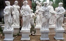 greek mythology statues ancient goddess statues 4 seasons statues marble carved statue four