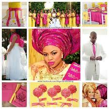 colour themes for nigerian wedding nigerian wedding 13 perfect pink wedding colour combination ideas