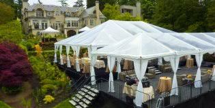 party rentals los angeles drapery decoration backyard wedding party rentals los angeles ca