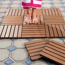 snap together deck tiles our hardwood floor tiles are a stylish