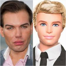 human ken doll before and after the human ken doll the freaky