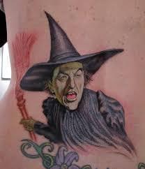 stefano alcantara tattoos myth wicked witch wizard of oz