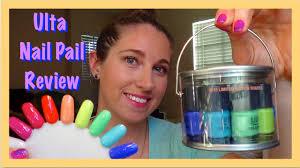 ulta nail pail limited edition mini nail polish collection review