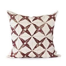 hand screened decorative throw pillows u2013 mercato antiques