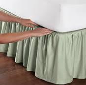 bed skirt dual split bottom adjustable bed design 600 thread