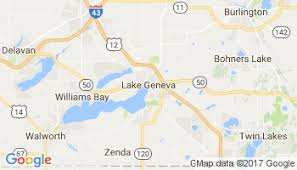 map of lake geneva wi current local in lake geneva wisconsin