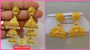 gold earing gold earring collection 2018 gold earring jhumka design