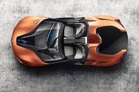 Bmw I8 Drift - bmw cuts the roof off an i8 fills it with the future by car magazine