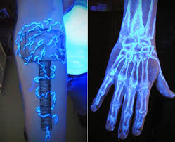 Black Light Tattoos These 10 Tattoos Look Normal At First But Turn On A Black Light