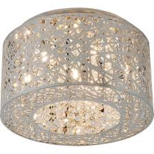amusing crystal flush mount ceiling light 22 with additional glass