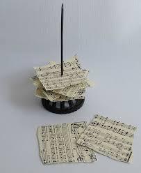 Retro Paper Christmas Decorations - vintage paper spike u0026 sheet music christmas trees hometalk