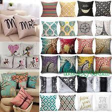 Home Decor Cushions Bedroom Novelty Decorative Cushion Covers Ebay