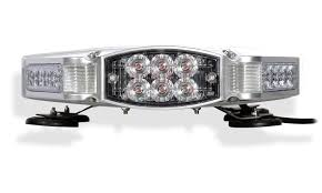 led equipped light bar falcon flight tir dual color emergency 3 watt led light bar 27 in