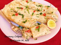 cuisine cepes savoury crêpes fauzia s kitchen