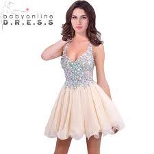 v neck homecoming dresses short boutique prom dresses