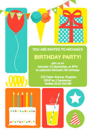 free printable birthday invitation templates for kids greetings