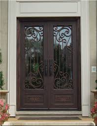 security front door for home custom wrought iron doors tuscan iron entries