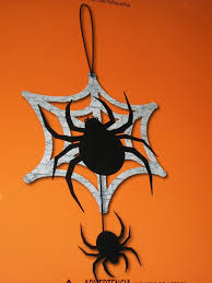 hanging spiders party decorations halloween wikii
