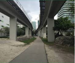 miami u0027s 10 mile linear park and urban trail u2014 the underline